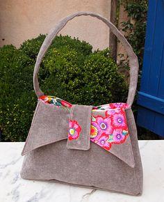 """Sac """"Ava par Camille - Camille's """"Ava"""" bag. http://camillemcraft.canalblog.com/"""