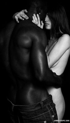 Sensual pictures of interracial couples
