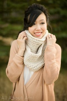 Triple Luxe Cowl pattern and tutorial