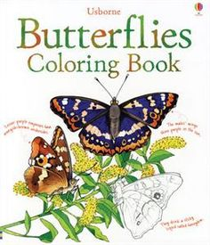 Butterflies to Color by Usborne