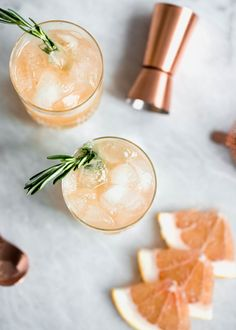 Named after the iconic dancer Ginger Rogers, this refreshing cocktail is made with fresh grapefruit juice, homemade ginger syrup, and gin!
