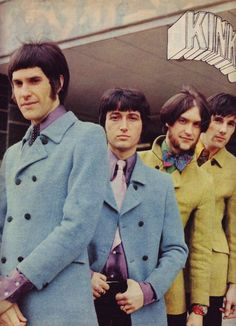 A well respected band. Despite the name. (The Kinks) 60s Music, Music Icon, The Kinks, Music Logo, Music Humor, Trendy Fashion, Fashion Music, Style Fashion, Trendy Style