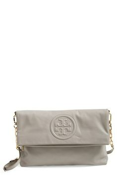 Tory Burch 'Bombe' Foldover Crossbody Bag, Medium available at #Nordstrom