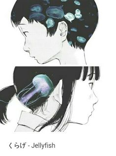 A Girl By The Sea Inio Asano manga jellyfish | skyiscalling.tumblr.com
