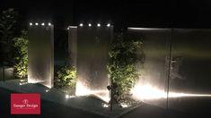 Edelstahl Wasserwand-Collyn