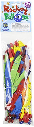 Schylling Rocket Balloon 30-Refill, 2015 Amazon Top Rated Balloons #Toy