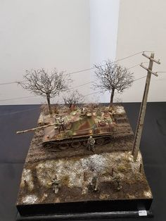 1/35 Panther Diorama, Unknown Modeller