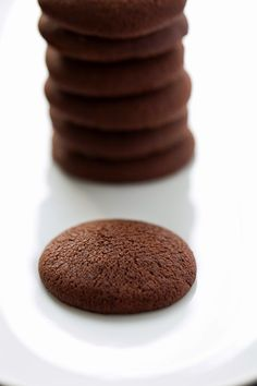 Tengo un horno y sé cómo usarlo | Recetas & fotos | Cocina paso a paso| Food | Spanish | Recipes: Galletas de puro chocolate