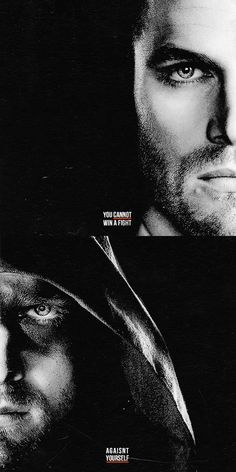 Arrow - Oliver Queen - You cannot win a fight against yourself