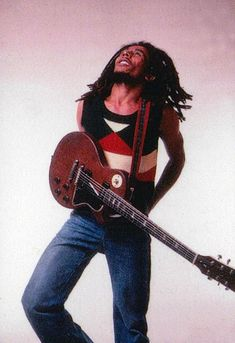 Bob Marley, 1976, by Annie Leibovitz for Rolling Stone.