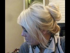 Best way top knot bun with hair extensions this hurr how to hair bun using halo hair extensions youtube looking for affordable pmusecretfo Images