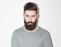 Ducktail Beard Look- The Mature yet Sexy Beard Style Medium Beard Styles, Long Beard Styles, Beard Styles For Men, Grow A Thicker Beard, Thick Beard, Sexy Beard, Badass Beard, Beard Styles Images, Beard Images