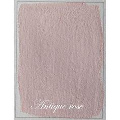 Kalklitir rosa Antique Rose Kalklitir är en ekologisk kalkfärg som tillverkas av naturliga mineraler och färgpigment. Kalklitirfärgen ger en betonglik och levande mjuk yta. Ingredienser i färgen är: Vatten, kalk och färgpigment. Färgen lämpar sig för inom och utomhusbruk och som möbelfärg. Mycket bra pris och kvalite förhållande.