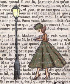 Drawing on old book pages Book Page Art, Book Pages, Illustration Mode, Illustrations, Altered Books, Altered Art, Painted Books, Hand Painted, Art Plastique