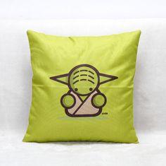K-waii - Cojín Yoda Star Wars http://www.regalitolindo.cl/product/139366/cojin-yoda-star-wars