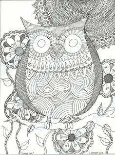 DIY COLORING Page Instant PDF Digital Por SnowflakeEclecticArt More Pins Like This One