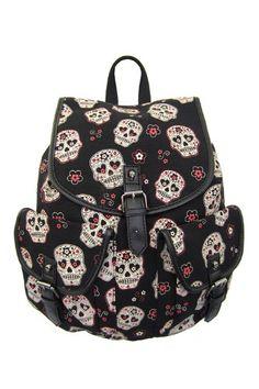 Banned Alternative Apparel Black Day of the Dead Sugar Skull Backpack Banned Alternative http://www.amazon.com/dp/B00KEBF3J8/ref=cm_sw_r_pi_dp_A9TBub0JS4PRS