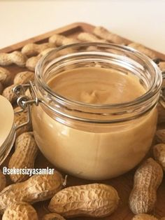 Almond Butter, Peanut Butter, Homemade Beauty Products, Nutella, Delicious Desserts, Healthy Snacks, Food To Make, Recipies, Deserts