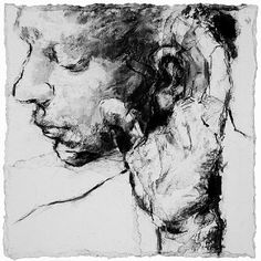 View Head with Hand Study by Alison Lambert on artnet. Browse more artworks Alison Lambert from Jill George Gallery. Life Drawing, Figure Drawing, Side Portrait, Charcoal Portraits, Drawing Expressions, People Art, Art Studies, Art Portfolio, Conceptual Art
