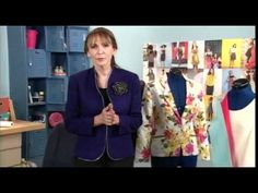 208-1 Peggy Sagers demonstrates jacket construction on It's Sew Easy -- Very useful!