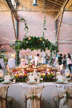 wanderlust wedding decor inspiration - Photo by Let's Frolic Together - http://ruffledblog.com/wanderlust-inspired-wedding-in-los-angeles