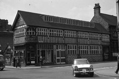 Stoke: The Bert Bentley Collection on Stoke Sentinel. Hill & Ainsworth Printers junction of Glebe Street & Copeland Street.