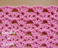Crochet shell tiers stitch - written instructions on how to crochet this nice stitch, there are just 2 rows to the pattern and it is easy to learn. Hope you can use it to create your own crochet designs. Beginner Crochet Tutorial, Crochet Instructions, Crochet For Beginners, Learn To Crochet, Diy Crochet, Crochet Ideas, Crochet Tutorials, Crochet Coaster, Free Tutorials