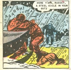 Panel from the 1952 comic book | Atomic War #2