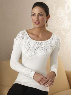 Emma Soutache Embellished Sweater -- Monroe and Main