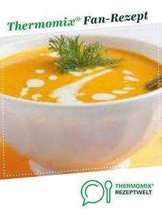 Möhrensuppe lecker !!! von lilly1623. Ein Thermomix ® Rezept aus der Kategorie Suppen auf www.rezeptwelt.de, der Thermomix ® Community.