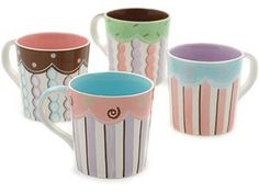 Hues & Brews 14-Ounce Mug Assorted Cupcakes, Set of 4 Hues & Brews http://www.amazon.com/dp/B001FBTNVK/ref=cm_sw_r_pi_dp_K5tLtb0P74FWW1PX