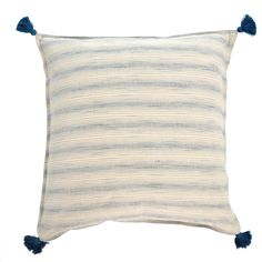 Tassel Pillow | SHASTA 24x24 – The Estate of Things