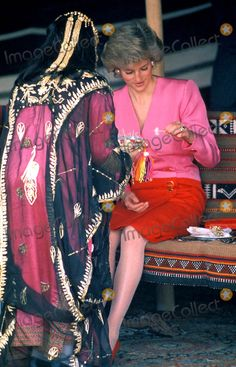 Photos and Pictures - Princess Diana Kuwait Photo: Dave Chancellor-alpha-Globe Photos Inc 1989 Princessdianaretro