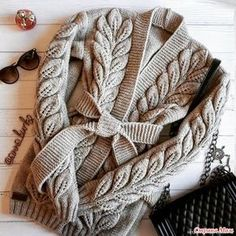 Knitting Patterns Cardigan The pattern 'Branch with leaves' consists of 27 loops + 2 edge edges. Knit Cardigan Pattern, Sweater Knitting Patterns, Knit Patterns, Yarn Thread, Knitted Coat, Knit Fashion, Knit Jacket, Crochet Projects, Knit Crochet