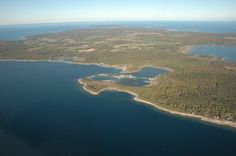 Washington Island, WI -- Just went here and biked 10 miles on this island!