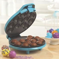 No registry is complete without a cake pop maker