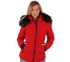 56# (Piros) SZŐRMÉS PUFIKABÁT | viyou.hu Winter Fashion, Winter Jackets, Winter Fashion Looks, Winter Vest Outfits, Winter Outfits, Winter Dress Fashion