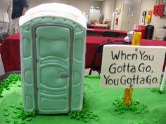 Retirement cake! Soooo doing this for Randy!!