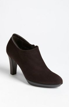 Aquatalia by Marvin K. 'Ruby' Bootie available at #Nordstrom in Anthracite Suede (Grey, not black as pictured).