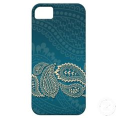 Paisley Border iPhone 5 Covers