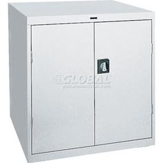 Sandusky Elite Series Counter Height Storage Cabinet Ea2r361842 36x18x42 Gray 238 95