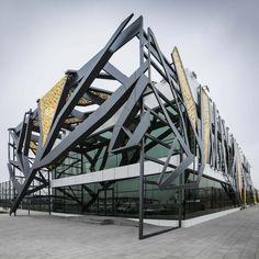 Open Courts Sports Complex by Bahadır Kul Architects in Kayseri, Turkey