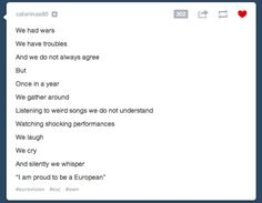 Everything Non-Europeans Need To Know About Eurovision