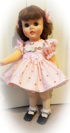 American character toodles doll. Amr fashions dress