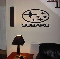 Garage Wall Subaru Rally Team Logo Decal Sticker Art 17