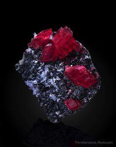 Rhodochrosite On Tetrahedrite Corner Pocket Sweet Home Mine Mount Bross Alma District