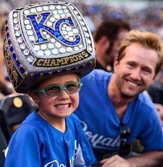 KC Royals World Series ring hat