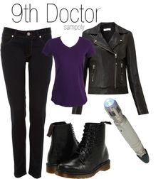 "The 9th Doctor. ""My"" Doctor is the 11th Doctor, but I love this!"