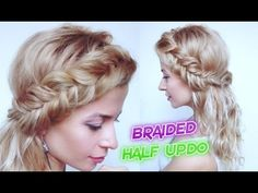 CUTE BACK TO SCHOOL HAIRSTYLE DUTCH FISHTAIL BRAIDED HALF UPDO   Awesome...