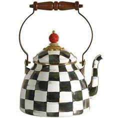 Enamel Tea Pot by mackenzie ~childs